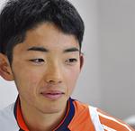 佐藤和仁(スポーツ健康学部2年)―駅伝レース初出場。8区を1時間6分16秒で区間7位。「強い選手がいるうちに主力になる準備をしたい。来年は主要区間で3位以内を目指したい」