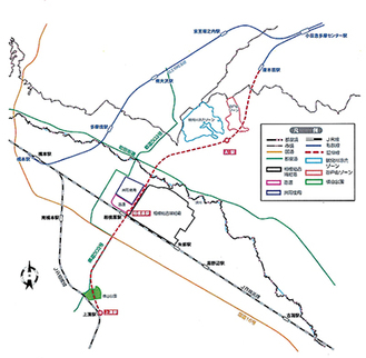 新路線予想図(延伸計画に関する研究会報告書より)