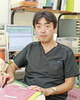 歯科口腔外科部長・中島敏文医師
