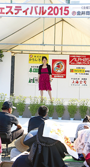 畑中葉子さんのステージ