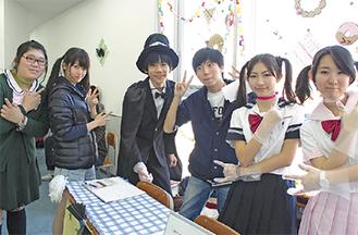 文化祭「想友祭」で(11/28)