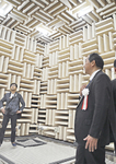 無響室はあらゆる音を完全に遮断