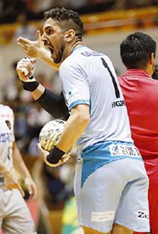 GKイゴール選手(ペスカ提供)