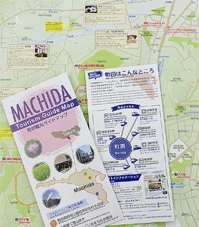 外国人向けのガイドマップ