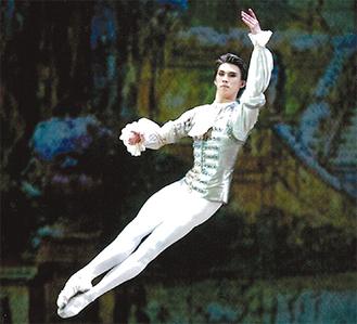 卒業に向けた公演で踊る千野さん=写真はいずれも谷口さん提供