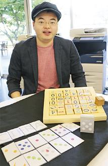 ゲームの楽しさを熱く語る齋藤将輝さん