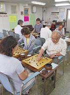 賞品多数の囲碁大会