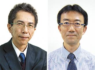 講師の山本龍生氏(右)と澤口俊之氏