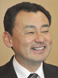 議長就任当時の上野孝典さん