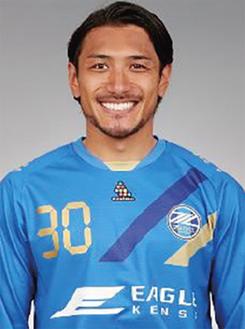 中島選手(C)FC町田ゼルビア