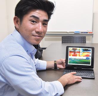 プロジェクトを語る太田康治さん