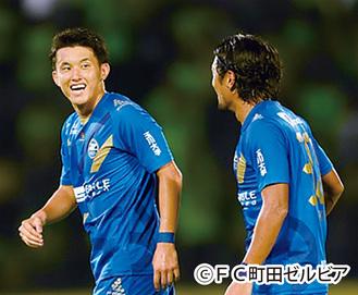 好調なチームをけん引する平戸選手(左)と中島選手