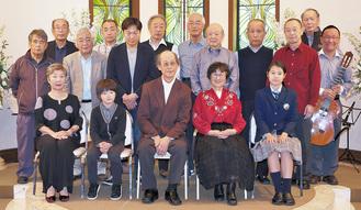 昨年の発表会参加者たち