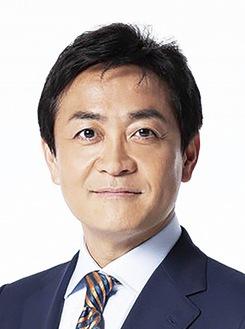 講演する玉木雄一郎氏
