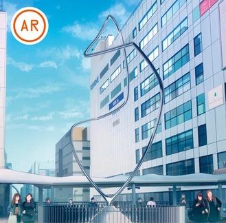 11月17日までは小田急線車内でも特別版を放映中