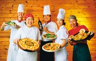 お正月から家族でわいわい絶品の石窯焼きピザを堪能