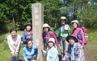 富士五湖台で(9月3日)