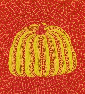 草間彌生「南瓜」1984年・同館所蔵