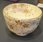桜柄の茶碗