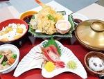敬老の日の夕食「特別膳」