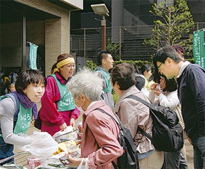 町田発の物産展 大盛況町田作業所連絡会