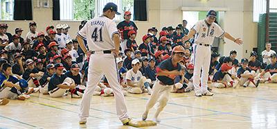 ベイOB野球教室