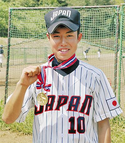 日本代表で世界一に