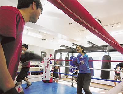 ボクシングジムのオープンキャンパス