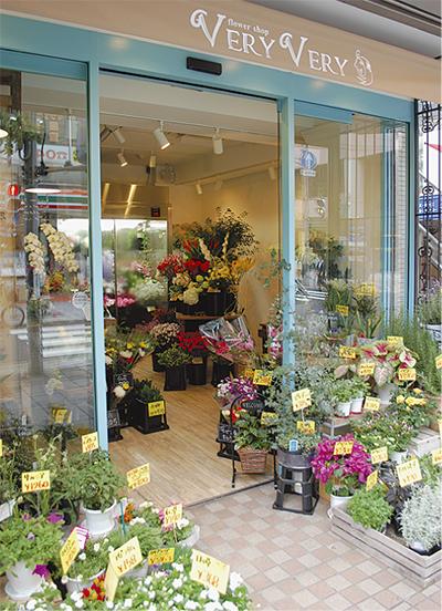 地域密着のかわいい花屋