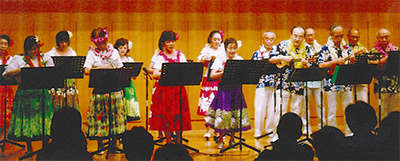 ハワイ音楽と舞踊