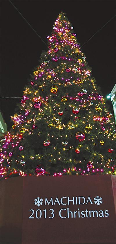 町田の冬を彩るイルミ