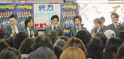 人気歌謡グループ新曲キャンペーン