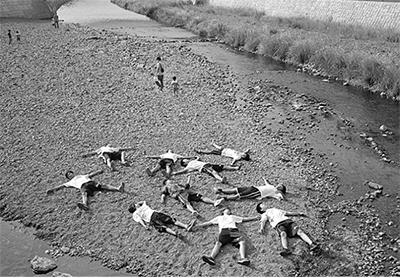 境川がテーマの写真50点展示