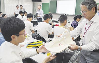 中国の生徒とサイエンス交流