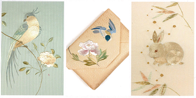 日本刺繍の展示会