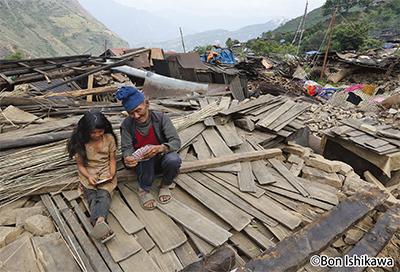 ネパールの惨状を報告