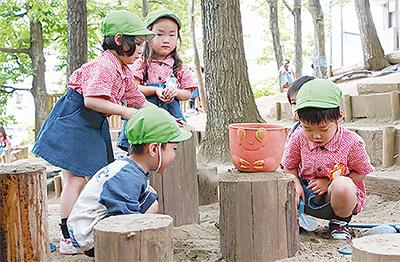 幼稚園と保育園が一体に