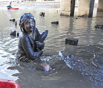 泥んこで環境改善