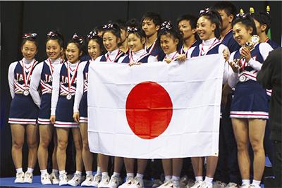 世界選手権で銀メダル