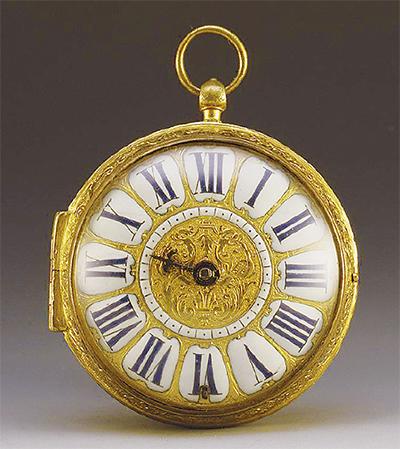 右巻き?左巻き?懐中時計の謎