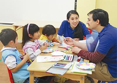 「英語で預かる学童保育」