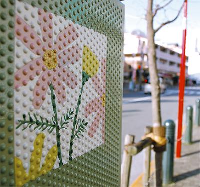 新たなアートで街彩る