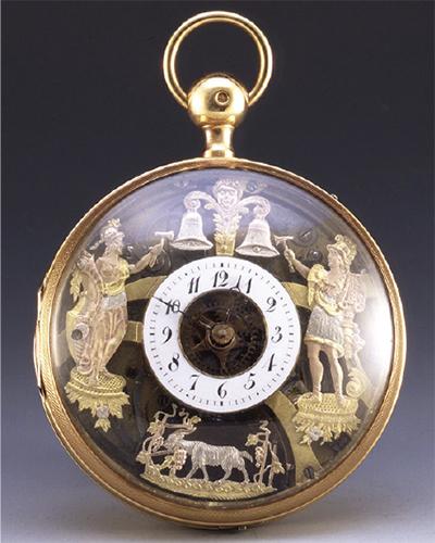 からくり付懐中時計の秘密