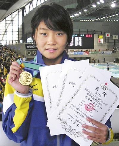 奈須田選手JOCで優勝