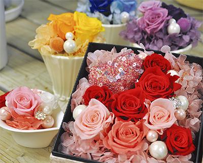 母の日に素敵な花の贈り物