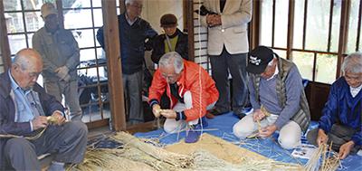 小野路の篠竹細工を継承