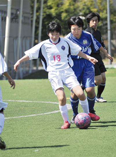 女子サッカー選手募集