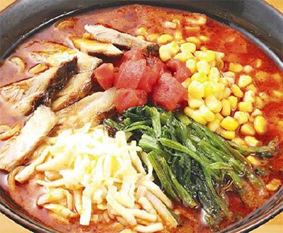 「チリトマト麺」登場