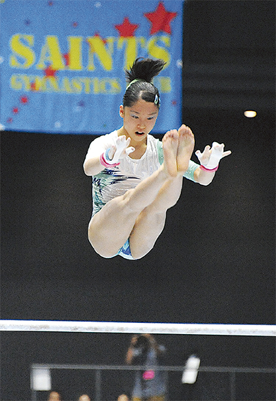 全日本体操種目別で初優勝