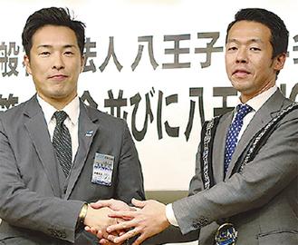 高野さん(左)と樫崎さん